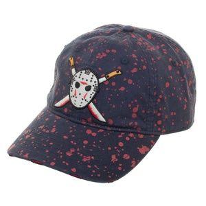 Blood Splattered Jason Friday The 13th Dad Hat
